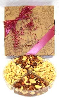 Jumbo Cashews and Gourmet Mixed Nuts Gift Pack