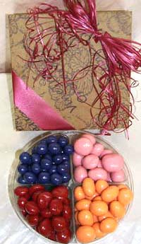 Small 4 Pack - Pastel Chocolate Covered Dried Fruit